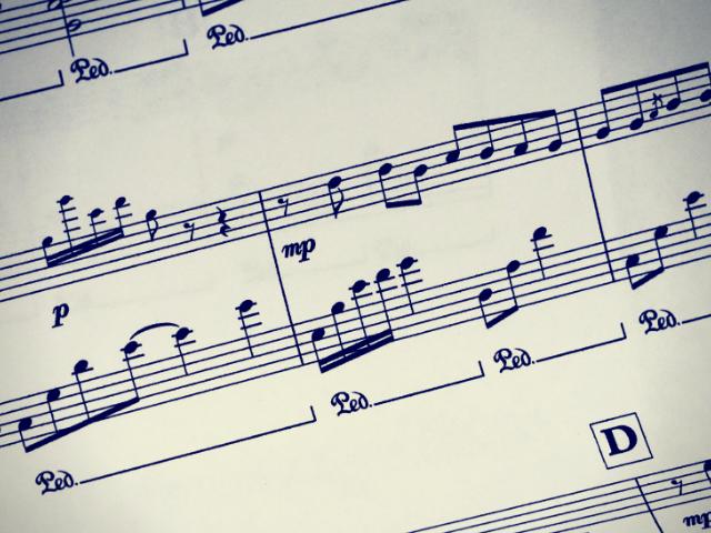 社歌の楽譜