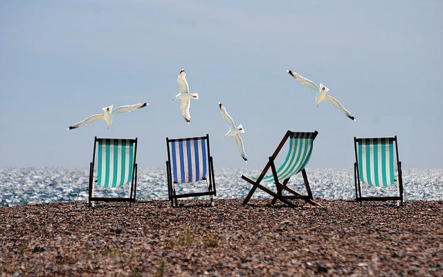 有給休暇で行くはずだったビーチ
