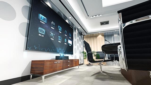 仲の良い会社の会議室