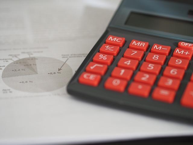 ボーナス額を計算するための電卓