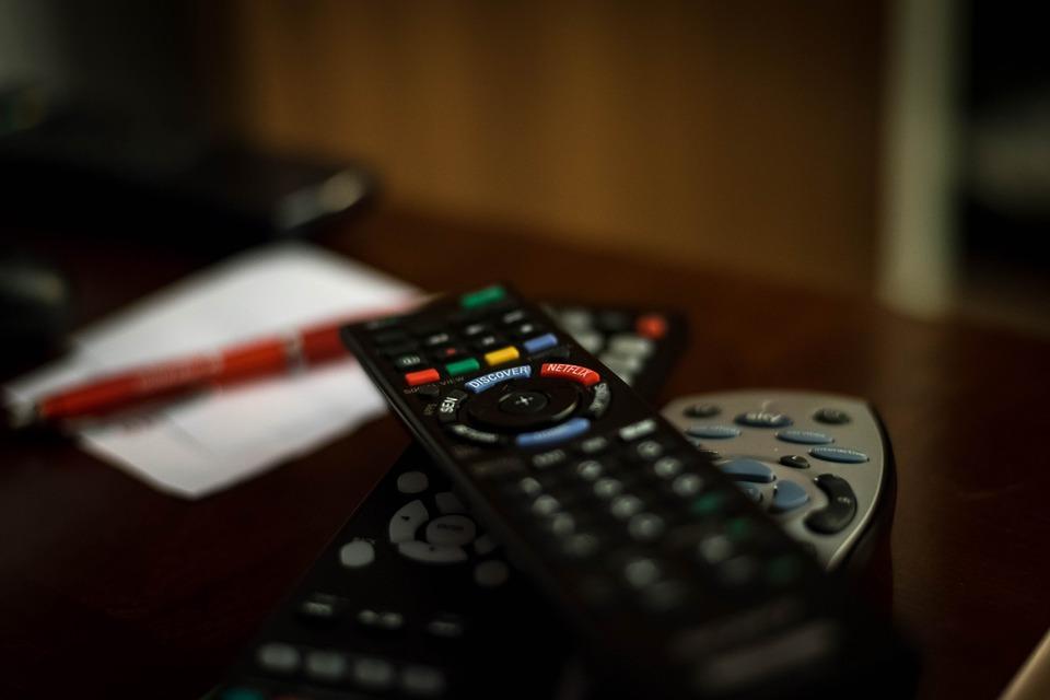 TVのリモコン