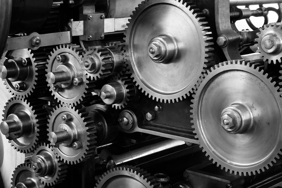 印刷業界の機械