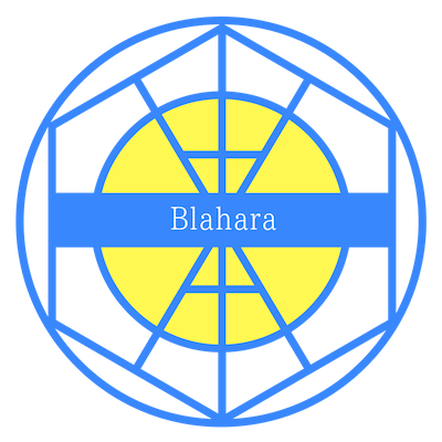 Blaharaロゴ